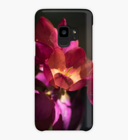 Flowers of Red and Pink Case/Skin for Samsung Galaxy