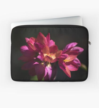 Flowers of Red and Pink Laptop Sleeve