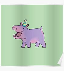 Party Hippo! Poster