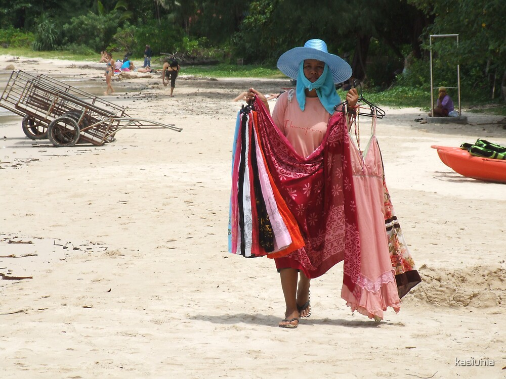 on the Thai beach by kasiunia