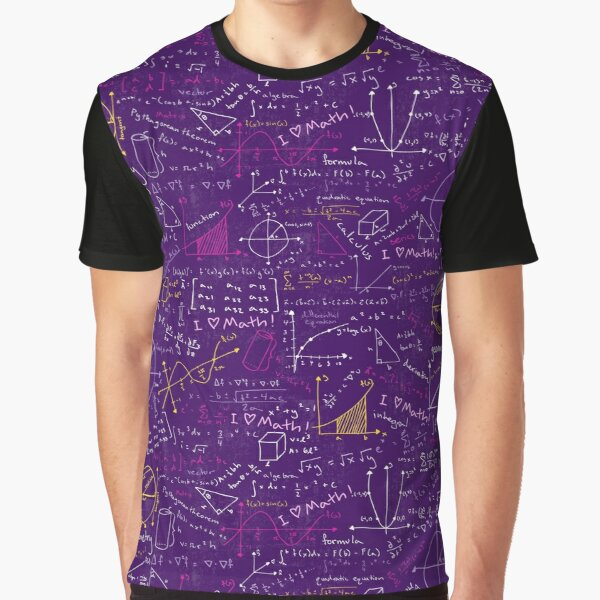 Math Lessons Graphic T-Shirt