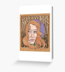 It is the witching hour Greeting Card