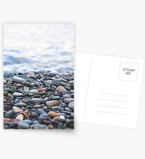 Pebbles on the Beach Postcards