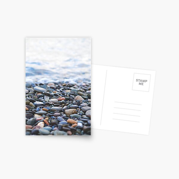 Pebbles on the Beach Postcard