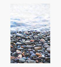 Pebbles on the Beach Photographic Print