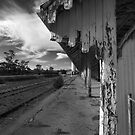 Old Railway Station at Burra by bettyb