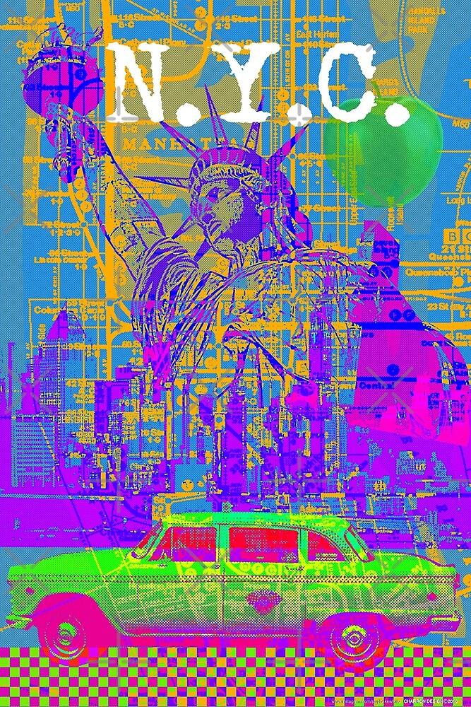 NYC  POP- ART-001  by stuph4kewlkidz