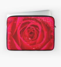 Rose Macro Laptop Sleeve