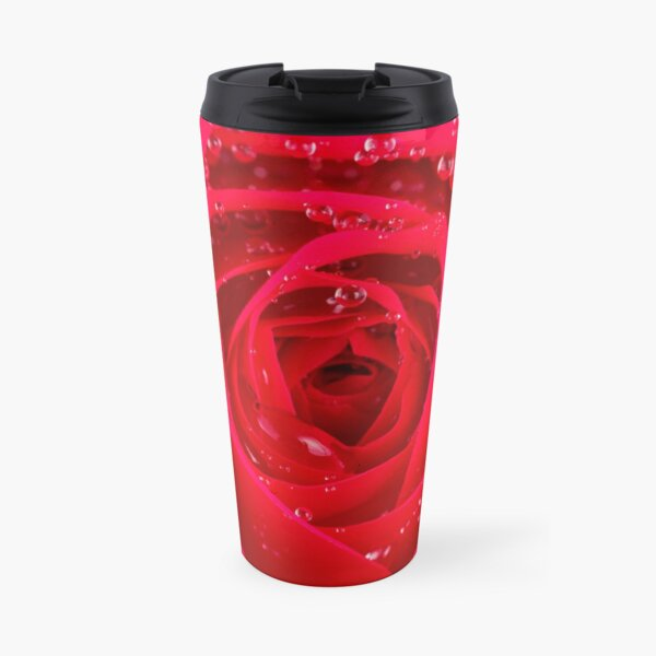 Rose Macro Travel Mug