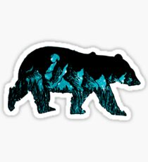 Glacier Mountain Bear Sticker