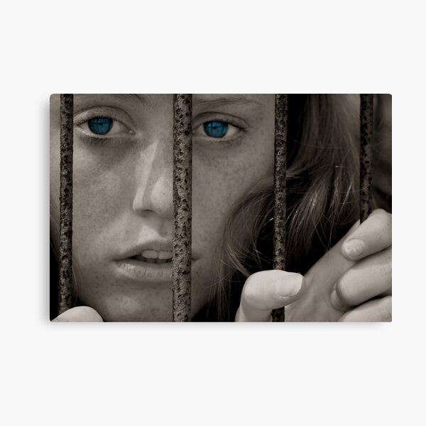 Trapped By Emotions Canvas Print