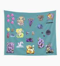 Final Fantasy IV Collage Wall Tapestry