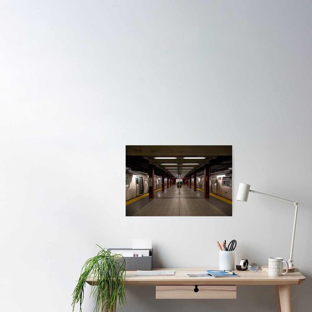 New York Subway Poster