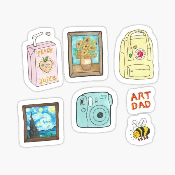 artsy sticker pack Sticker
