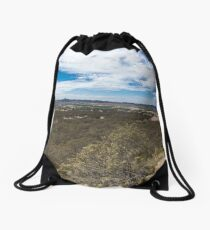 The Lookout Above Denman Drawstring Bag