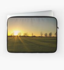Sunset in the Phoenix Park, Dublin Laptop Sleeve