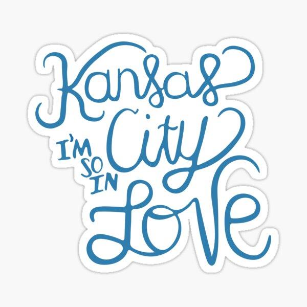 Kansas City I'm So In Love Sticker