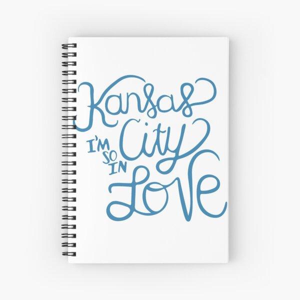 Kansas City I'm So In Love Spiral Notebook