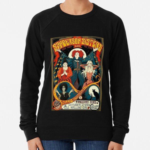 Sanderson Sisters Vintage Tour Poster T-Shirt Lightweight Sweatshirt