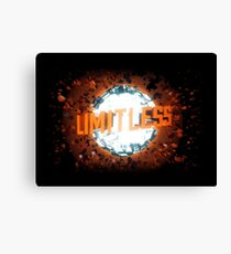limitless - great movie Canvas Print