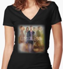 limitless - awesome film Women's Fitted V-Neck T-Shirt