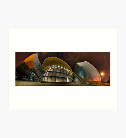 Architectural Warp Art Print