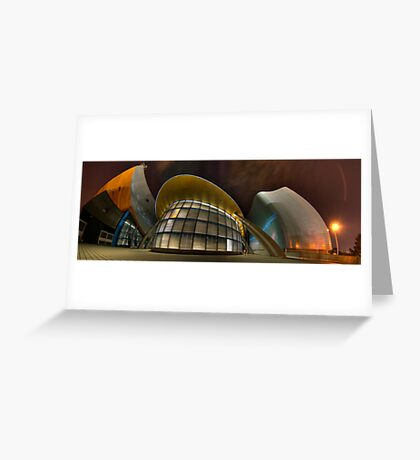 Architectural Warp Greeting Card