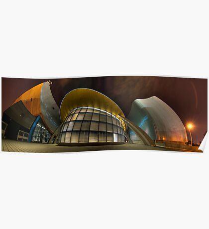 Architectural Warp Poster