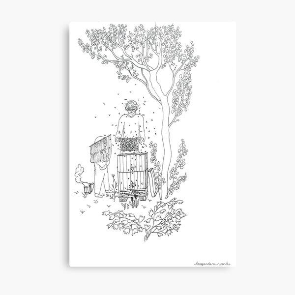 beegarden.works 004 Metal Print