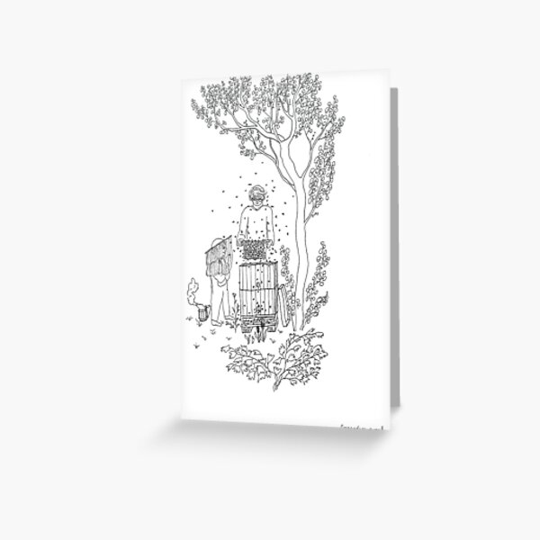 beegarden.works 004 Greeting Card
