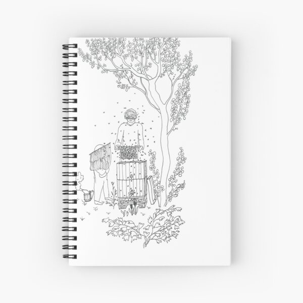 beegarden.works 004 Spiral Notebook