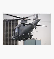 Navy Chopper Photographic Print