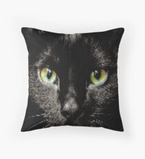 ASCii BLACK KAT by ROOTCAT Floor Pillow