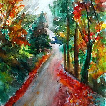 Autumn day  by Manitarka