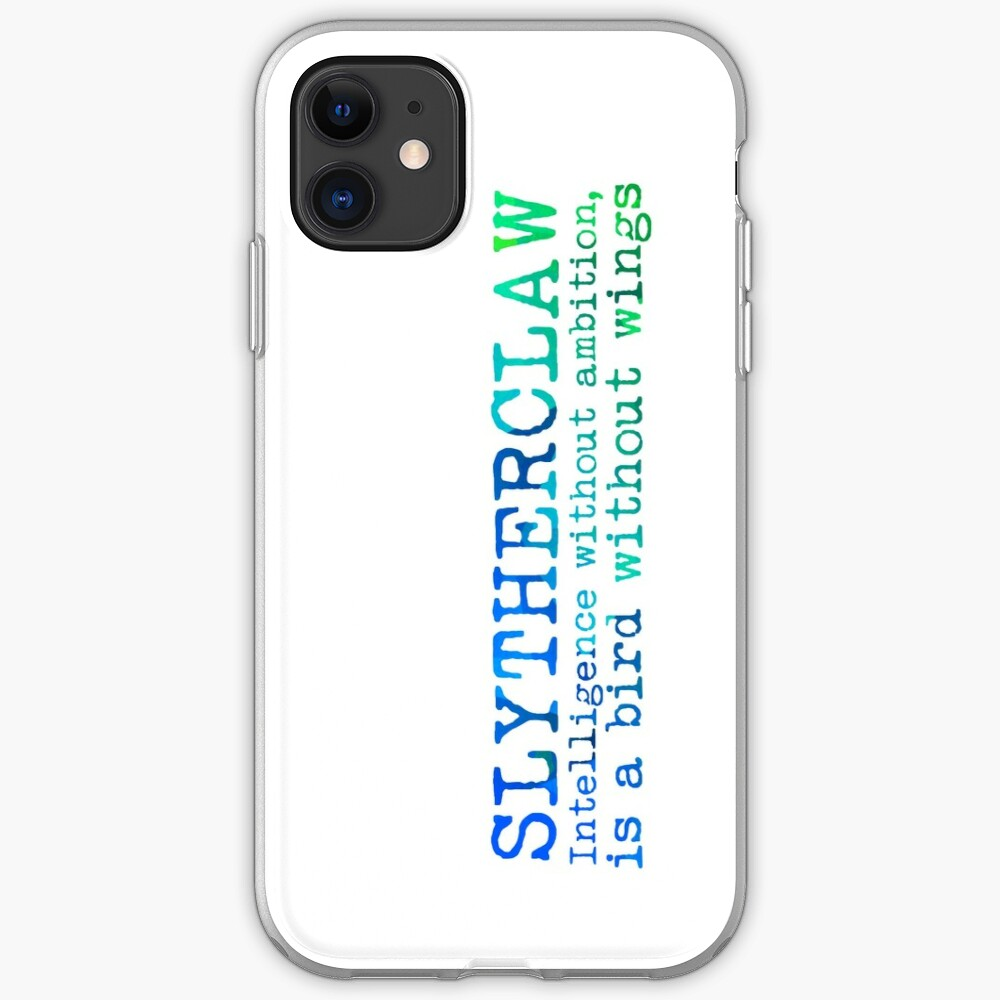 Slytherclaw Quote iPhone Case & Cover