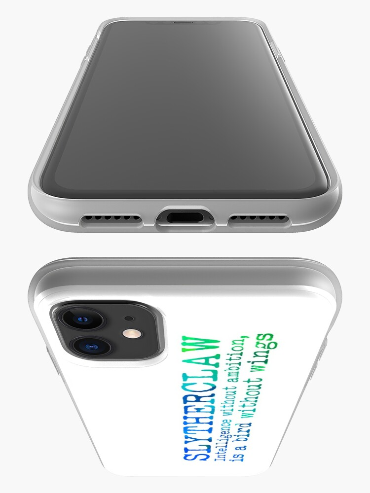 Alternate view of Slytherclaw Quote iPhone Case & Cover