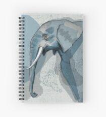 Blue Elephant - Animals of the World Spiralblock