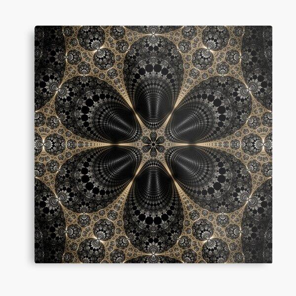 Apollonian Flower Metal Print