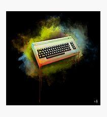 Commodore 64 TRIBUTE - Dark Edition Photographic Print
