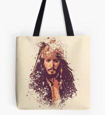 Fluch der Karibik, Jack Sparrow spritzt Tote Bag
