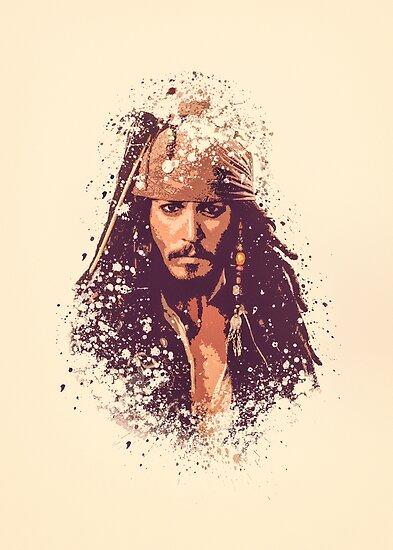 Fluch der Karibik, Jack Sparrow spritzt von jpvoodoo
