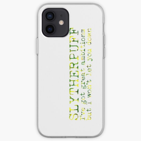 Slytherpuff Quote iPhone Soft Case