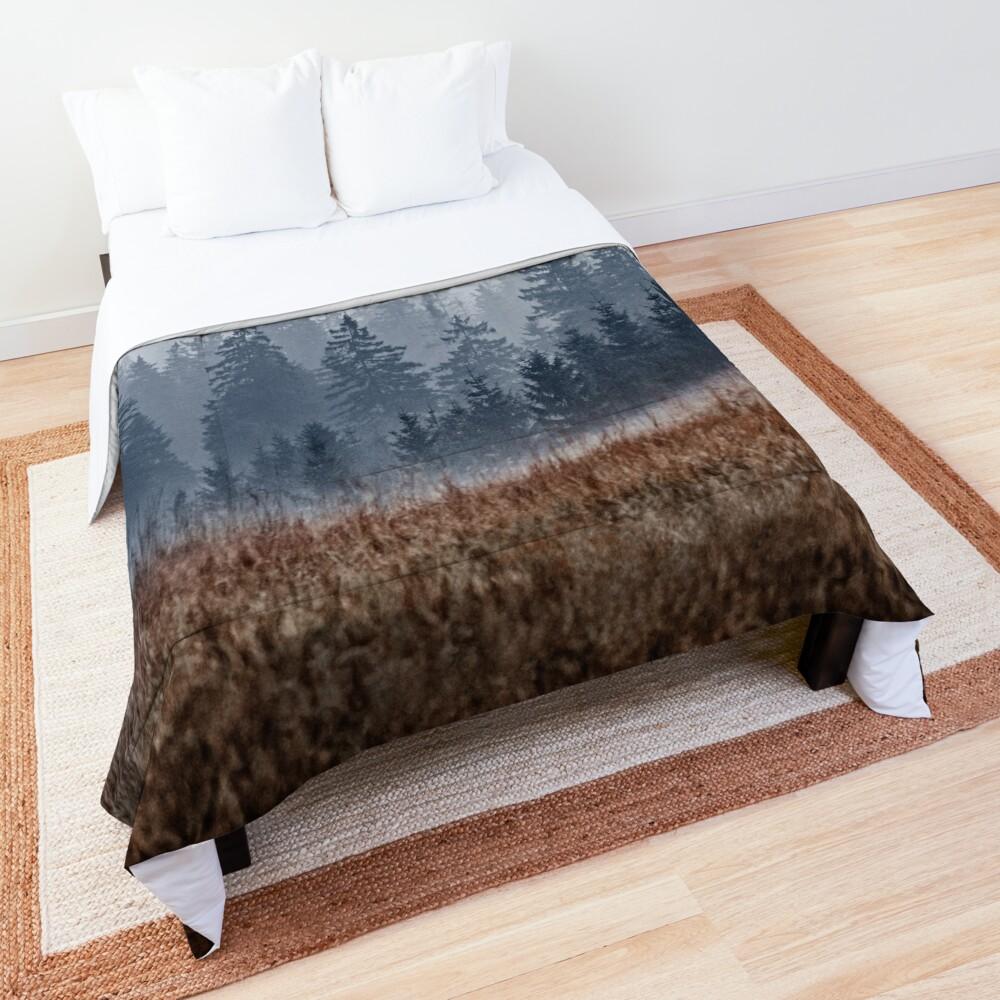 Lost In Fog Comforter