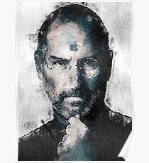 Steve Jobs sketch Poster