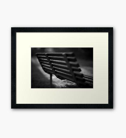 Back Seat Framed Print