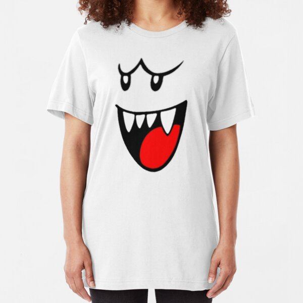 Boo Face Slim Fit T-Shirt