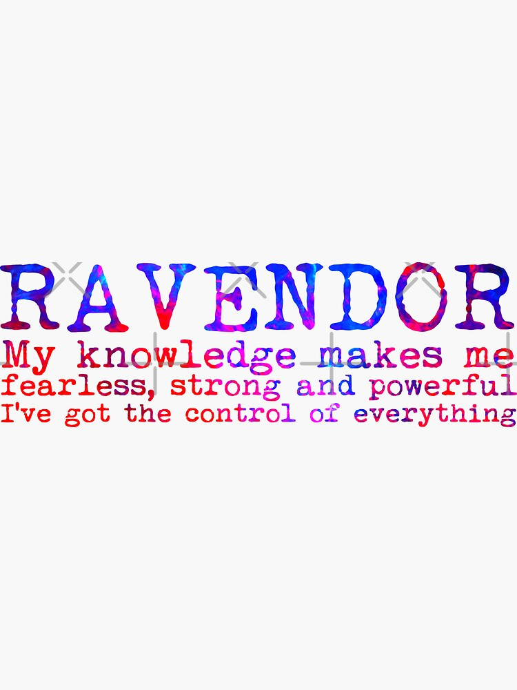 Ravendor Quote by Zorume