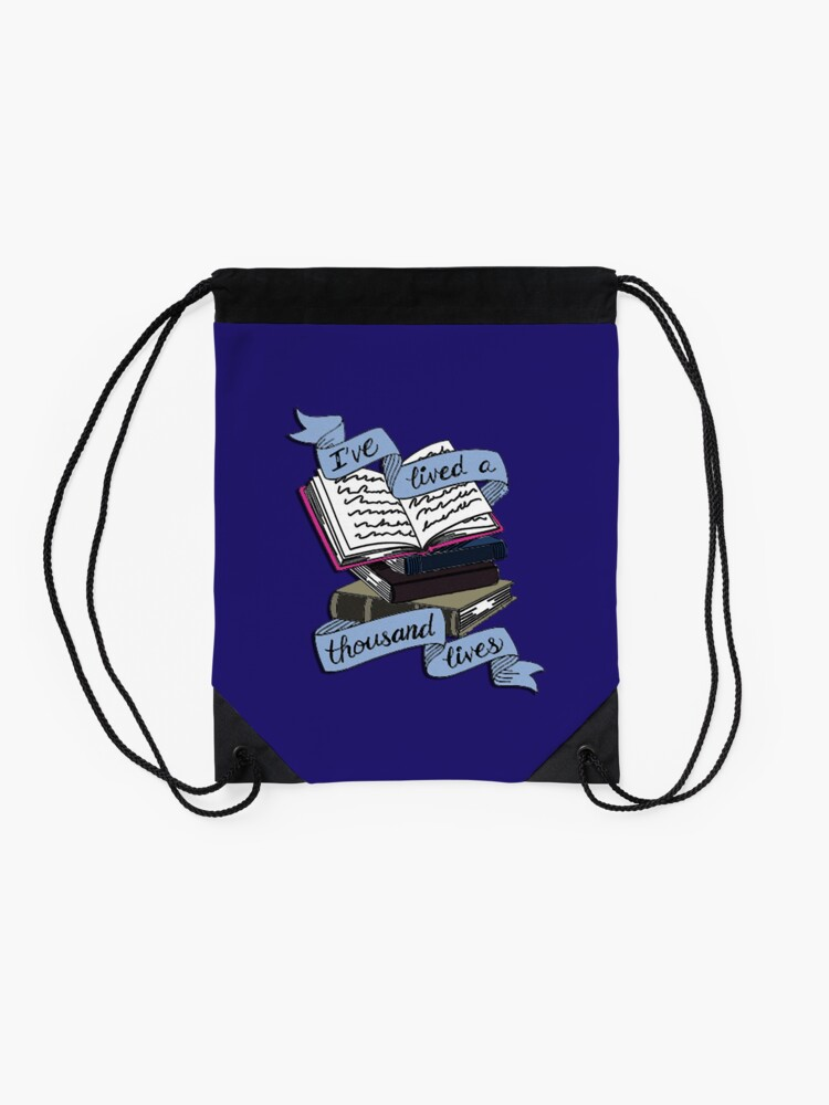 Alternate view of Books  Drawstring Bag