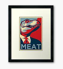 Omega Rex Presidential Campaign Framed Print