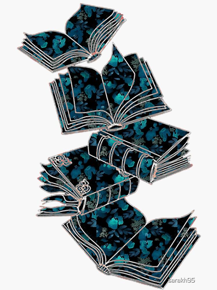 Books flowers by sarakh95